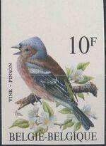Belgium 1990 Birds (B) b