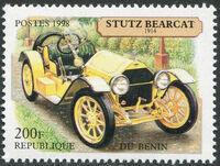 Benin 1998 Vintage Cars c