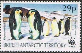 British Antarctic Territory 1992 WWF Seals and Penguins d