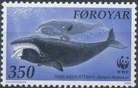 Faroe Islands 1990 WWF - Whales b
