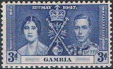 Gambia 1937 George VI Coronation c