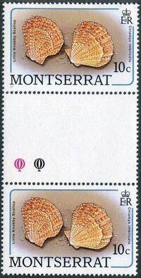 Montserrat 1988 Sea Shells gb