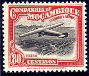 Mozambique Company 1935 Inauguration of the Airmail (2nd Issue) j