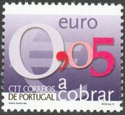 Portugal 2002 Euro Coins (Postage Due Stamps) c