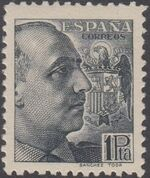 Spain 1939 General Franco - 1st Group h