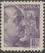 Spain 1939 General Franco - 1st Group j