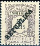 St Thomas and Prince 1913 Postage Due Stamps - 2nd Overprint j