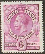 Swaziland 1933 George V f