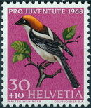Switzerland 1968 PRO JUVENTUTE - Birds c