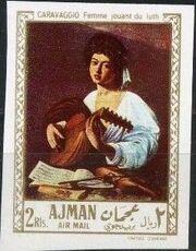 Ajman 1968 Paintings s