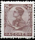Azores 1910 D. Manuel II f