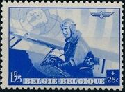 Belgium 1938 European Airmail Conference d