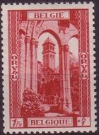 Belgium 1939 Restoration of Orval Abbey b