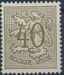 Belgium 1951 Heraldic Lion (1st Group) e