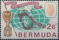 Bermuda 1966 World Cup Soccer a