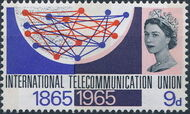 Great Britain 1965 Centenary of the ITU a