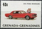 Grenada Grenadines 1983 The 75th Anniversary of Ford T c