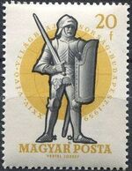 Hungary 1959 24th World Fencing Championships b