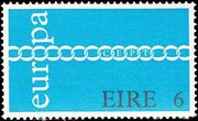 Ireland 1971 Europa-CEPT b