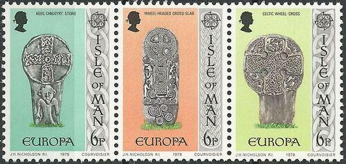 Isle of Man 1978 Europa STa