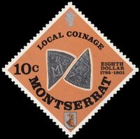 Montserrat 1975 Old Local Coinage (1785-1801) b