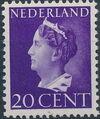 Netherlands 1940 Queen Wilhelmina f