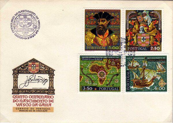 Portugal 1969 500th Anniversary of the Birth of Vasco da Gama l