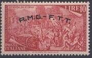 Trieste-Zone A 1948 Centenary of the uprisings of 1848-49 f