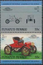 Tuvalu-Funafuti 1985 Leaders of the World - Auto 100 (2nd Group) c