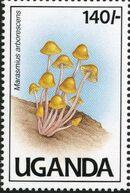 Uganda 1991 Mushrooms of Uganda d