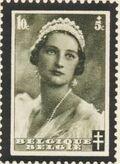 Belgium 1935 Queen Astrid Memorial Issue a