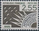 France 1985 Months of the Year - Pre-cancelled (1st Issue) d