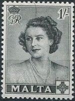 Malta 1950 Visit of Princess Elizabeth c