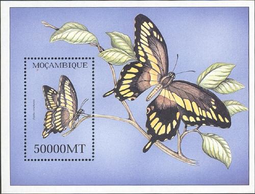 Mozambique 2002 Butterflies SSa