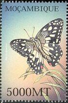 Mozambique 2002 Butterflies a