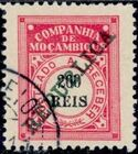 "Mozambique Company 1911 Postage Due Stamps Overprinted ""REPUBLICA"" i"