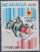 Nicaragua 1984 Winter Olympics - Sarajevo' 84 b