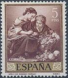 Spain 1960 Painters - Bartolomé Esteban Murillo j