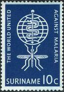 Surinam 1962 Malaria Eradication b