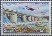 Angola 1965 Various Works and Airplane c
