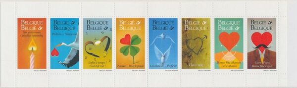 Belgium 1999 Greetings Stamps BKLa