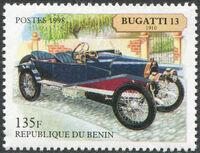 Benin 1998 Vintage Cars a