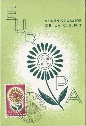 France 1964 Europa d
