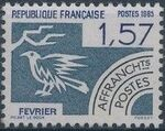 France 1985 Months of the Year - Pre-cancelled (1st Issue) b