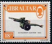 Gibraltar 1987 Guns and Artillery g