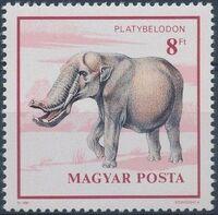 Hungary 1990 Prehistoric Animals e