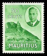Mauritius 1950 Definitives k