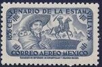 Mexico 1956 Centenary of Mexico's 1st Postage Stamps (Air Post Stamps) d