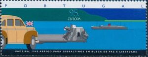 Portugal 1995 Europa - Peace and Freedom b