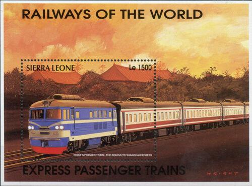 Sierra Leone 1995 Railways of the World SSd